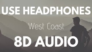 Imagine Dragons - West Coast (8D AUDIO)