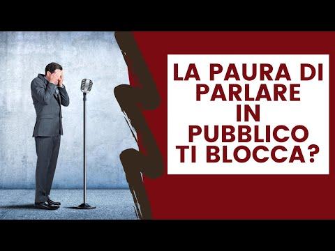 Immagine per La paura di parlare in pubblico ti blocca ?