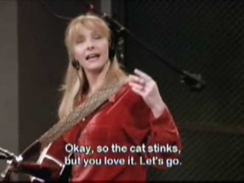 Phoebe Buffay Smelly Cat In Studio (with English subtitles)