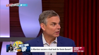 Warriors' recent success is not a good look for Kevin Durant | SPEAK FOR YOURSELF