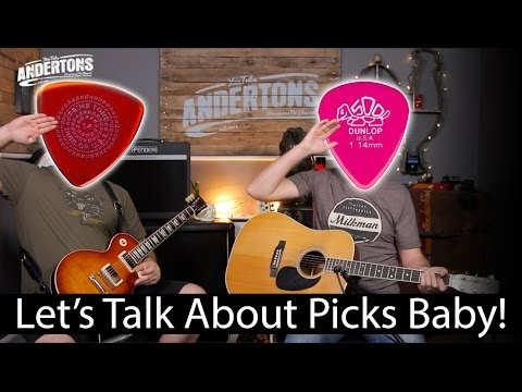 Lets Talk About Picks Baby! (A Guitar Plectrum Geek Out)