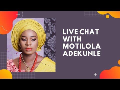 Download Live chat with Motilola Adekunle