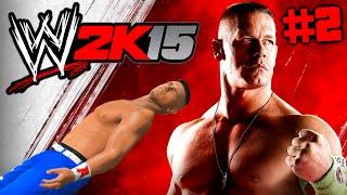 WWE 2K15 : Auf Rille zum Titel #2 [FACECAM] - SCHWERE ZEITEN !! HD