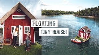 We Stayed On A Tiny House Boat! - Sweden's Most Unique Airbnb Stockholm, Sweden