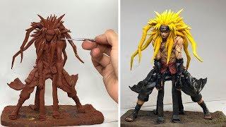 Naruto Akatsuki SCULPTURE / Concept Art  The Power Of Kyuubi