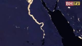NASA Siar Peta Bumi Waktu Malam
