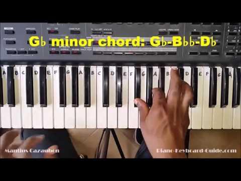 Gbm Piano Chord Worshipchords