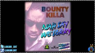 Bounty Killer - Nah Say We Sorry [Negril Weekend Riddim] June 2012