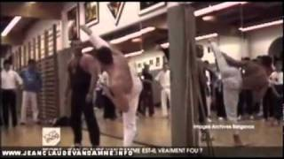 Van Damme - Karate Class with his Sensei (Rare Version) - Caught on Tape