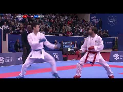 Rafael Aghayev Vs Ken Nishimura Karate 1 World Premier League Paris 2018