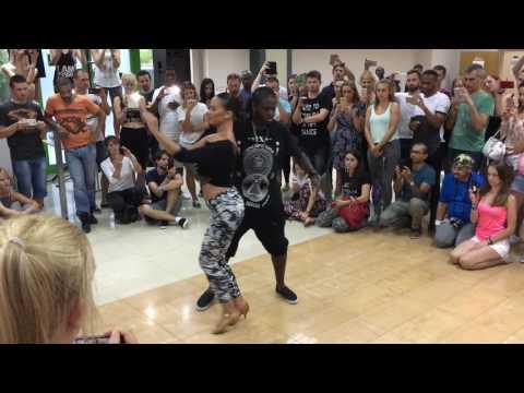 Urban Kiz - Enah & Irene dancing with attitude! - Bachaturo 2016