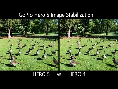 GoPro Hero 5 Image Stabilization Test | Hero 5 vs Hero 4 Comparison