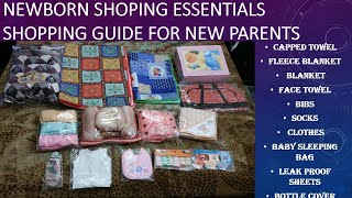 Newborn shopping haul/newborn shoping essentials lahore local market shoping for newborn with prices