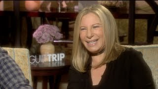 Barbra Streisand and Seth Rogen Interview for THE GUILT TRIP