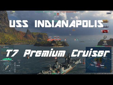 USS Indianapolis - American T7 Premium Cruiser Commentary