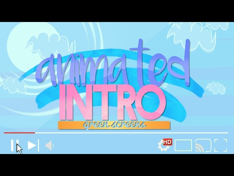 Animated Intro Green Screens