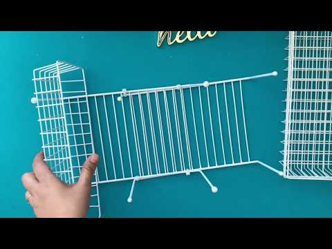 DOLLAR TREE DIY MULTIPURPOSE ORGANIZER Crafting & Others for Wall Tabletop or Over the Door for Less
