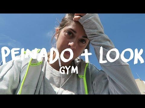 Gym Routine | cara, peinado + outfit (vlog)