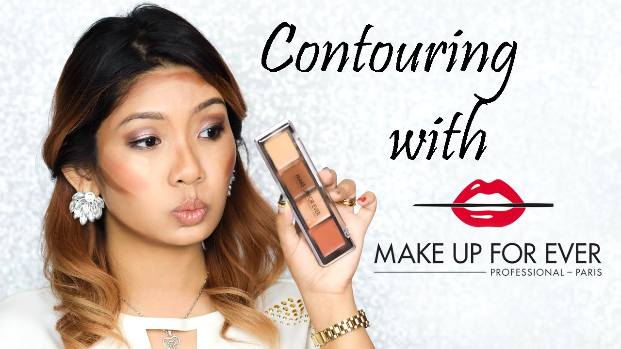 Contouring With Make Up For Ever Pro Sculpting Palette Pen My Blog