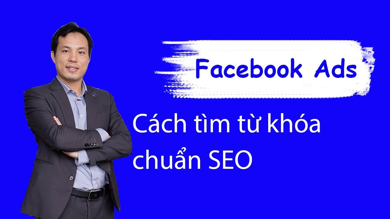 Cách tìm từ khoá để làm SEO Facebook Fanpage