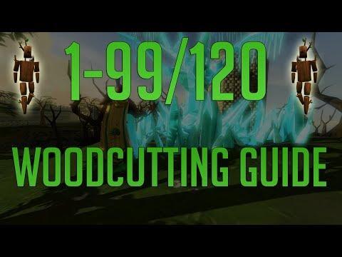 Runescape 3 - 1-99/120 Woodcutting Guide 2019