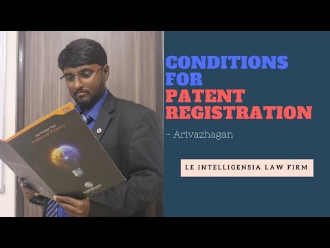 Conditions for Patent Registration