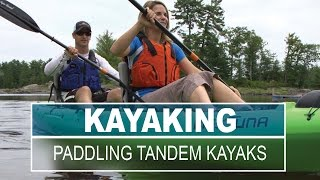 Tandem Kayak - Paddle a Tandem Kayak | Paddling Tips and Skills for Beginners