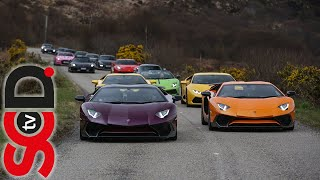 Supercars tour the highlands