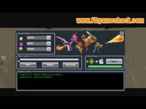 Clash Of Clans Gems Hacking Tool 100% Working No Password