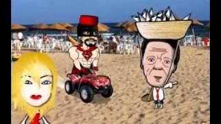 الخبز السياسي الحلقة الرابعة captain 5obza