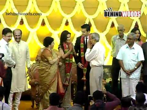 Soundarya Rajinianth Wedding Reception - Part 1
