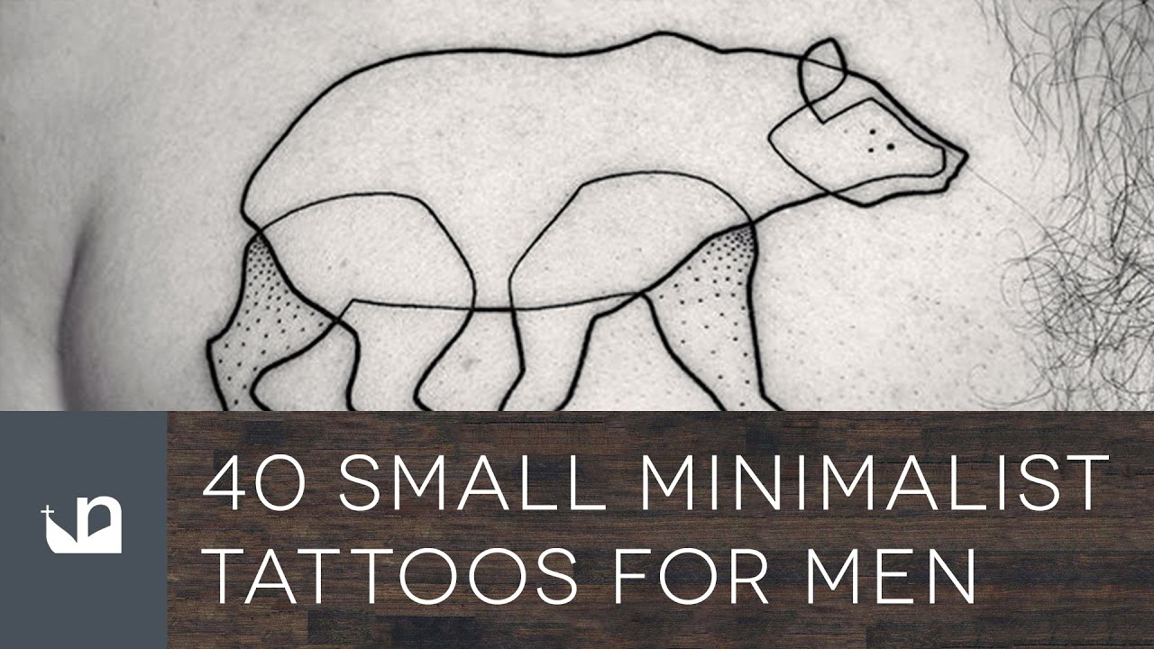 40 Small Minimalist Tattoos For Men – Aesthetic Ink Ideas