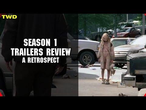 The Walking Dead Season 1 Trailers Review - A Retrospect