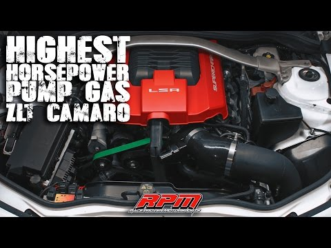 Highest Horsepower Zl1 on  Pump Gas? | RPM