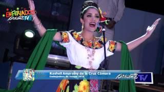 Imposición de bandas 2014 - Embajadora de Jalapa, Rashell Amarainy de la Cruz Cámara