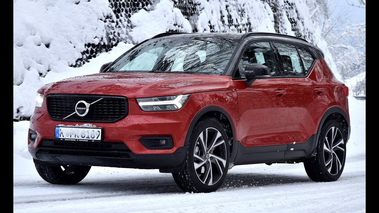 2019 volvo xc40 winter test youtube. Black Bedroom Furniture Sets. Home Design Ideas