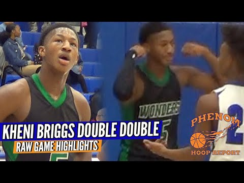 Another Double Double For Kheni Briggs ... AL Brown Vs. Mooresville Full Highlights