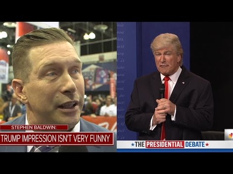 Stephen Baldwin Says Brother Alec's Donald Trump 'SNL' Impression Is 'Not Very Funny'