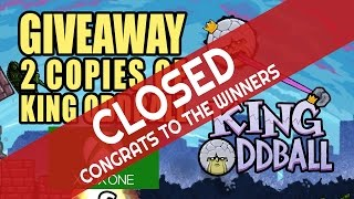 GIVEAWAY  for King Oddball is Closed Now (Thanks to everyone and Congrats to the Winners)