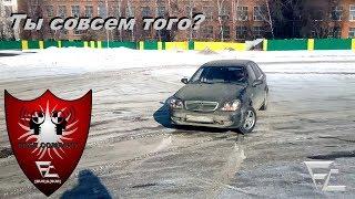 Дрифт на переднем приводе в Geely CK-1 Otaka, 10 лет авто, Ты совсем того?