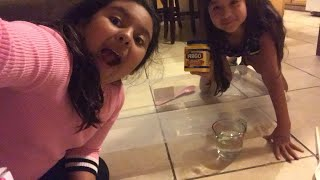 Makeing oobleck