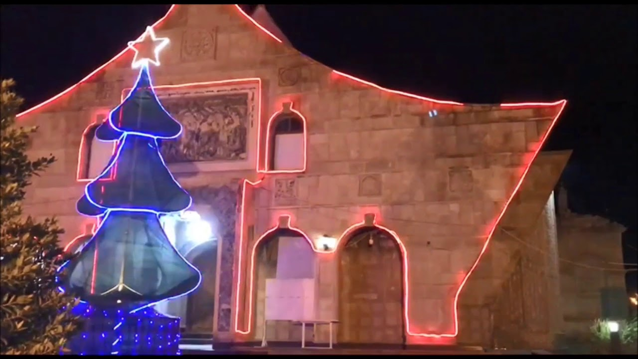 157 - Christmas decorations in Mar Behnam & Sara Church in Baghdeda