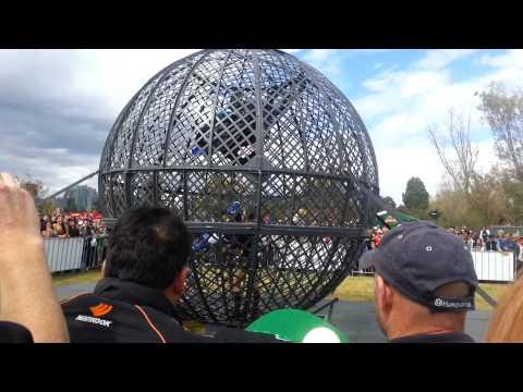 Globe of Death - Melbourne Grand Prix