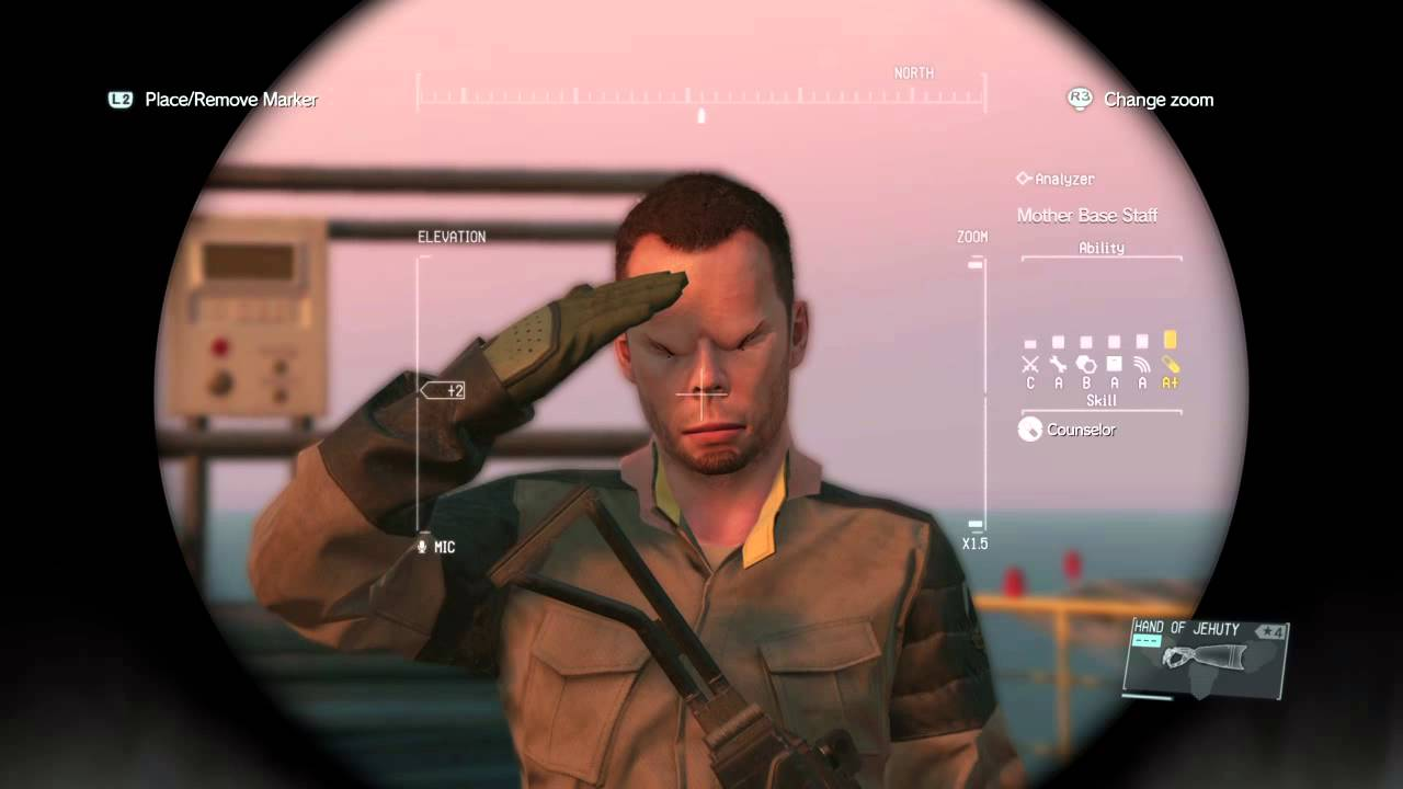 metal gear solid 5 how to get silencer