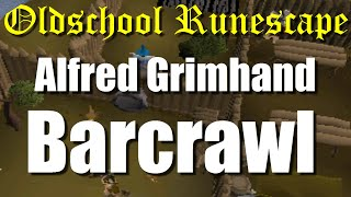 OSRS Alfred Grimhand Barcrawl Miniquest Guide