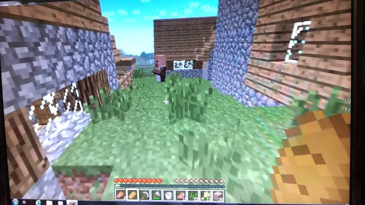 Minecraft 創世神 阿正新手教學 ep4--和村民交易 - YouTube
