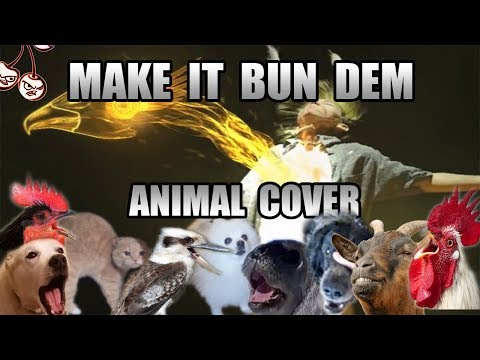 Skrillex & Damian Marley - Make It Bun Dem (Animal Cover) [only_animal_sounds]