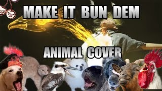 Baixar Skrillex & Damian Marley - Make It Bun Dem (Animal Cover) [only_animal_sounds]
