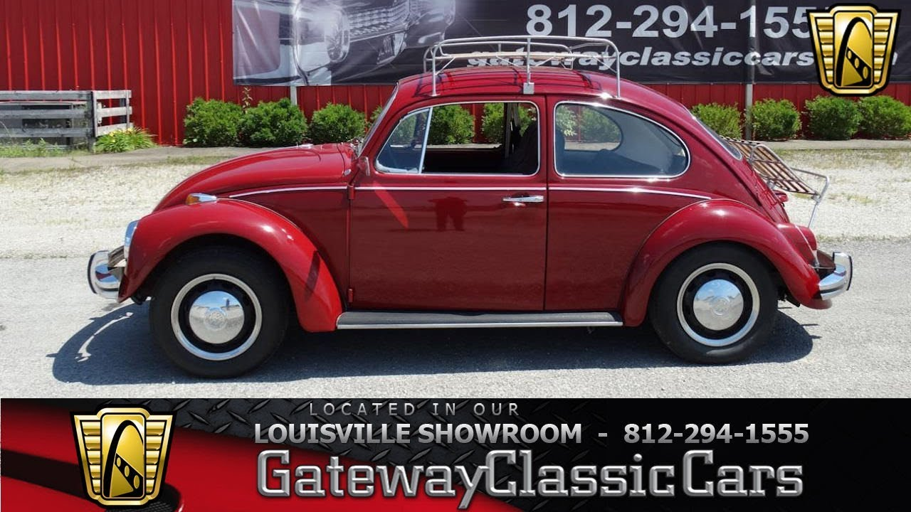 1968 Volkswagen Beetle - Louisville Showroom - Stock # 1557 - YouTube