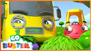 Robot Buster is Being Mean! - Stand Up to Bullies | Cozy Coupe | Go Buster | Baby Cartoons